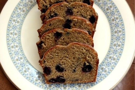 Maple Blueberry Tea Cake | Bread Box | Pinterest