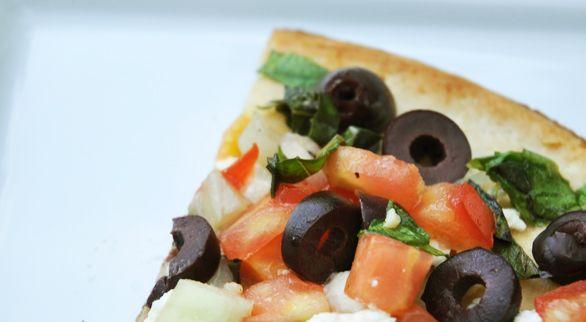 Grilled Greek Pizza | Recipe