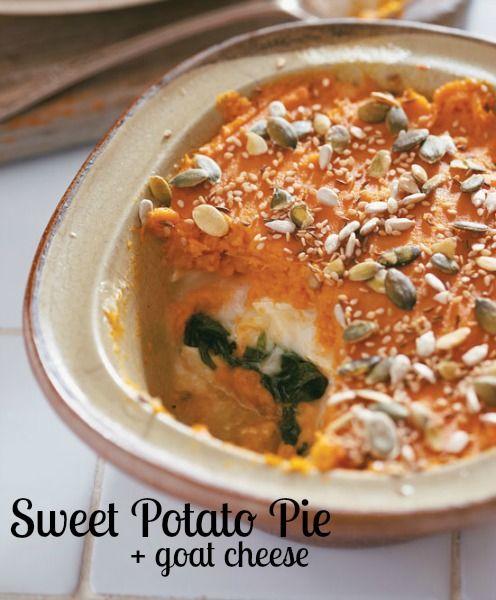 Spin on sweet potato pie | Delicious! | Pinterest