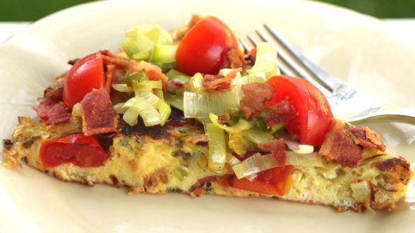 BLT+Soufflé+Frittata | My attempt at cooking... | Pinterest