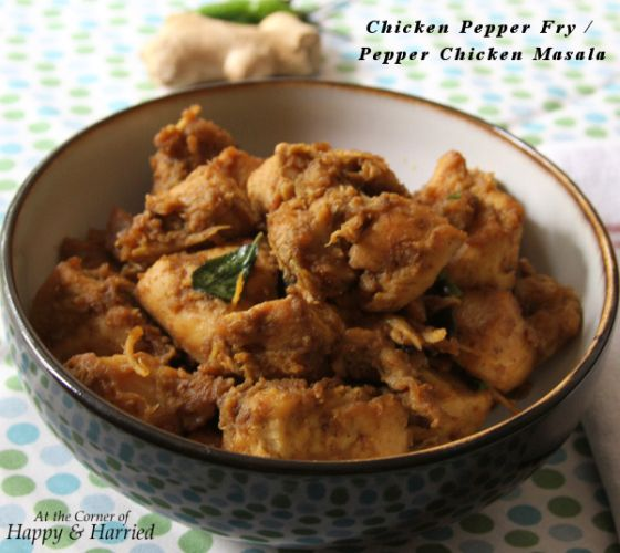 Chicken Pepper Fry | Recipes from Tasty Tuesdays | Pinterest