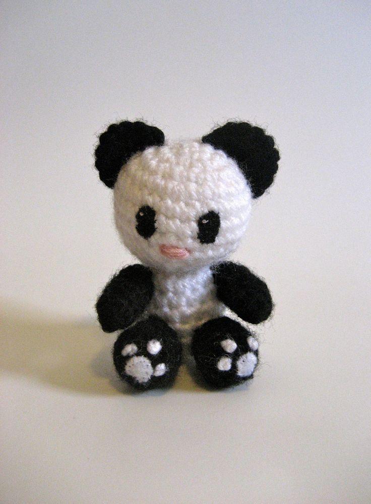 Amigurumi Panda Bear Pattern : Cutie pie panda! Amigurumi Pinterest