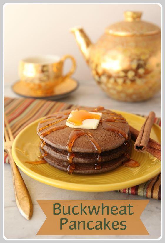 Cinnamon Buckwheat Pancakes | Looks Yummy... | Pinterest