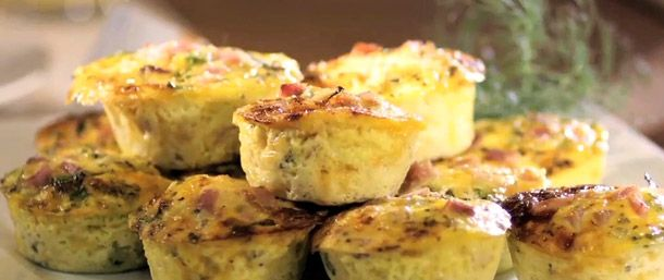 ham amp cheese muffin frittatas one of over 200 delicious recipes from ...