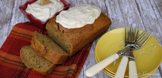 Pumpkin Cake with Honey and Spice Buttercream | Recipe