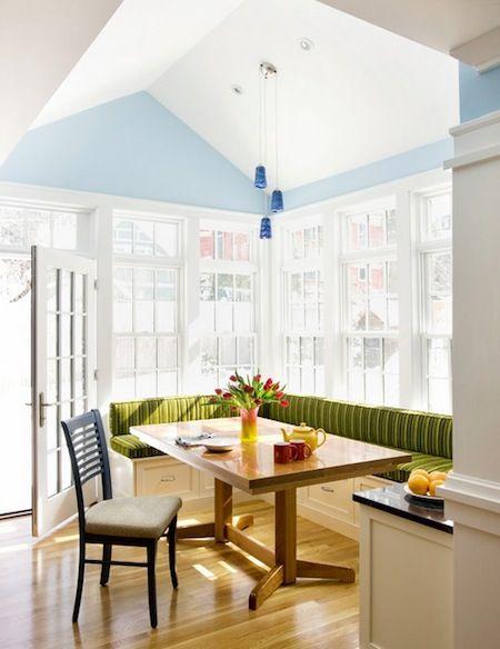 Breakfast Nook Light Deck The Home Pinterest