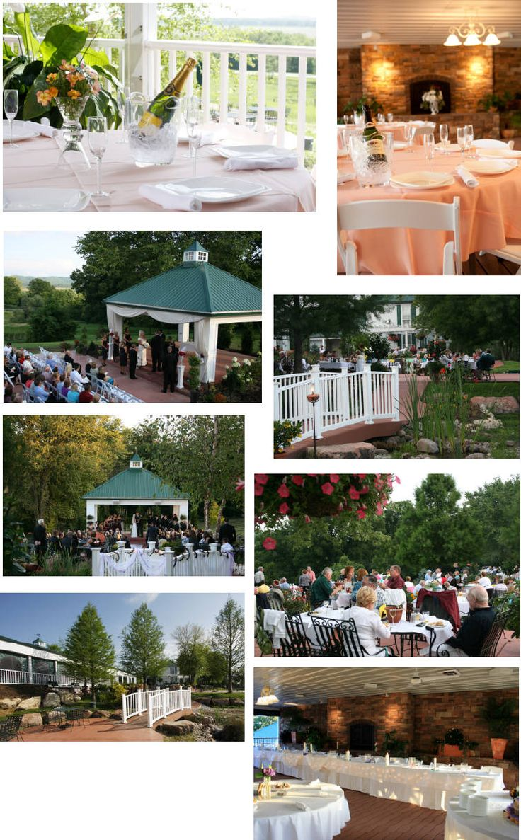 wine country gardens defiance mo mo winery wedding pinterest