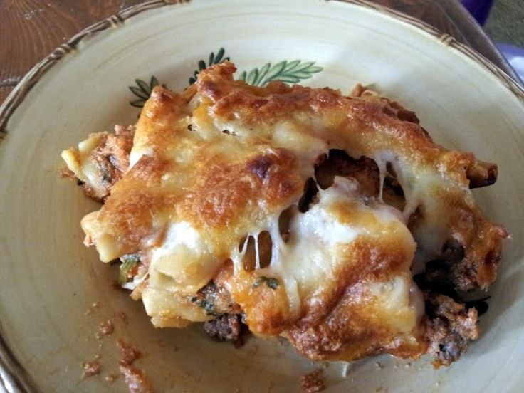 "Lasagna-Style Baked Ziti - ""Excellent easy dish. A must try for ..."