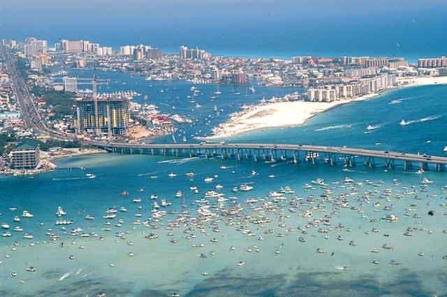 Crab Island Destin.FL