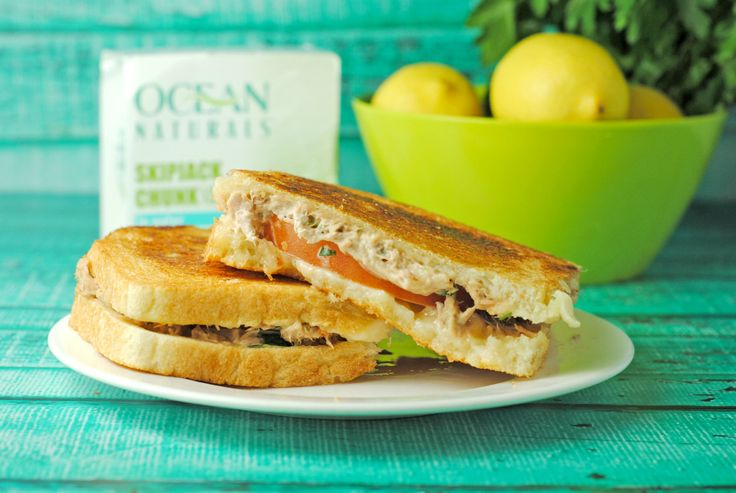 Tuna Melt from @Jen @ Juanita's Cocina #recipe #sandwich #seafood