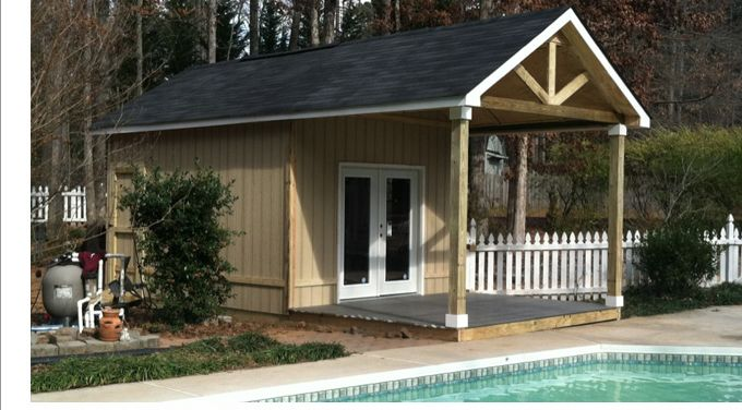 Custom Backyard Sheds :  Sheds And Garage Builders, Atlanta GA Custom Utility Sheds By Backyard