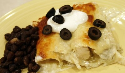Chicken Enchiladas Supreme Recipe — Dishmaps