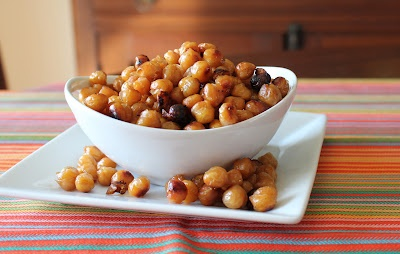 Sweet and Salty Chickpeas | Oh how I miss you, whole wheat. | Pintere ...