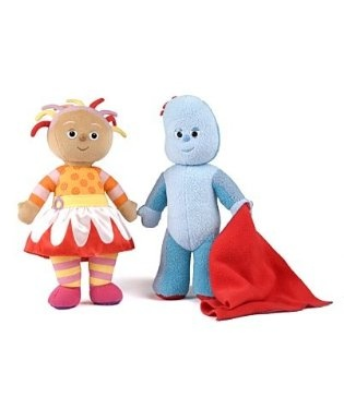 Upsy Daisy e Iggle Piggle knitted toys Pinterest