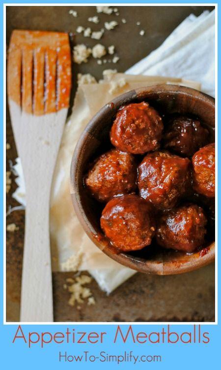 appetizer meatballs- comfort food