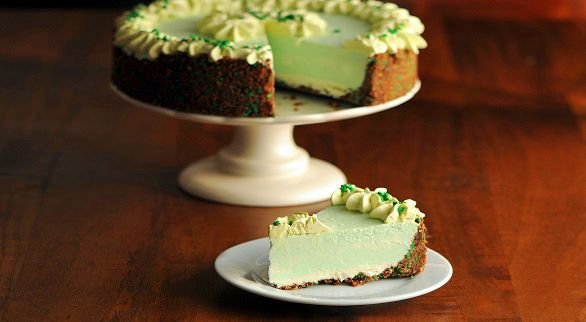... this page. Shows all the layers. Looks so good. Boozy Mint Cheesecake