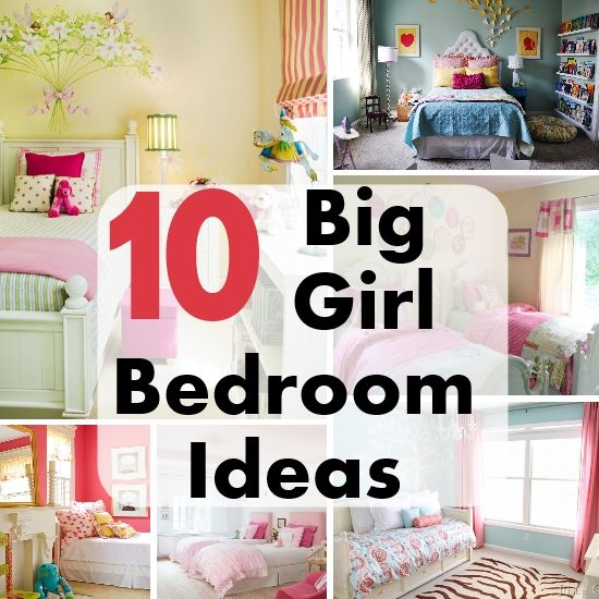 big girl bedroom ideas diy home decor tips pinterest