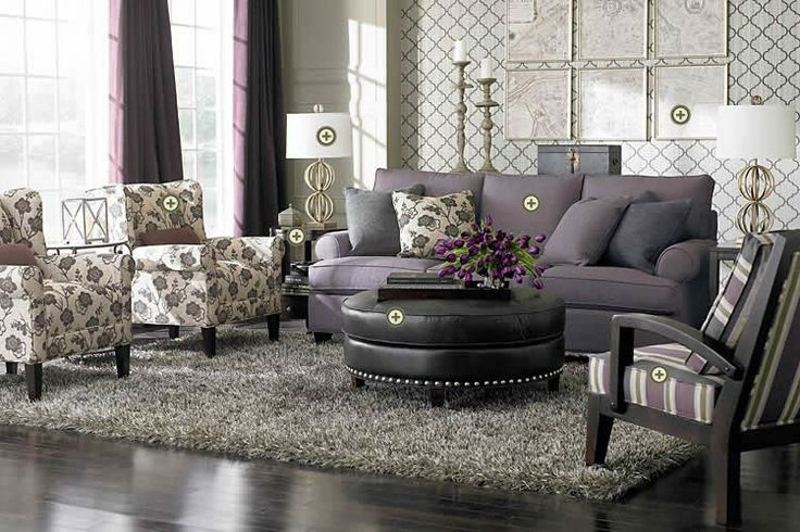 grey and lavendar perfection contemporary