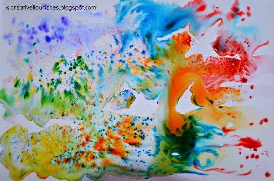 Creative Flourishes: Brusho
