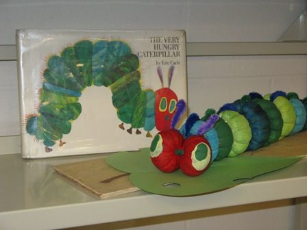 The Very Hungry Caterpillar  - Book Character Pumpkin (Pumpkin Painting 2008)