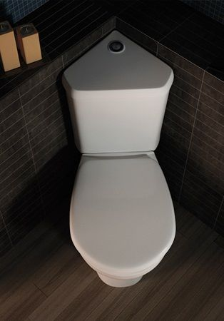 Corner Toilet : Corner Toilet Home Design Ideas, Pictures, Remodel And Decor