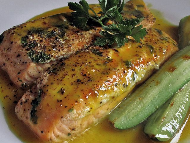 Grilled Salmon With Honey Mustard Glaze | Recipes - Meat/Poultry/Seaf ...