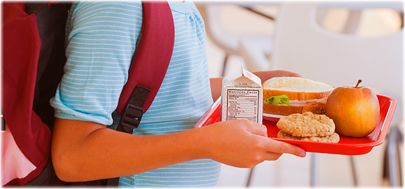 Image result for children eating school lunch trays