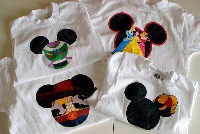 disney diy tshirts!