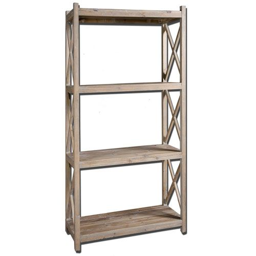 ... Book Shelf Uttermost Free Standing Shelves & Bookcases Home Off