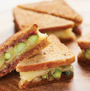 grilled cheese sandwiches as a meal, right? So why not serve Asparagus ...