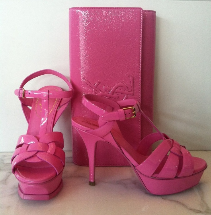 YSL Pink Available @ COSMOPOLITAN SHOES Double Bay, Sydney TEL: (02