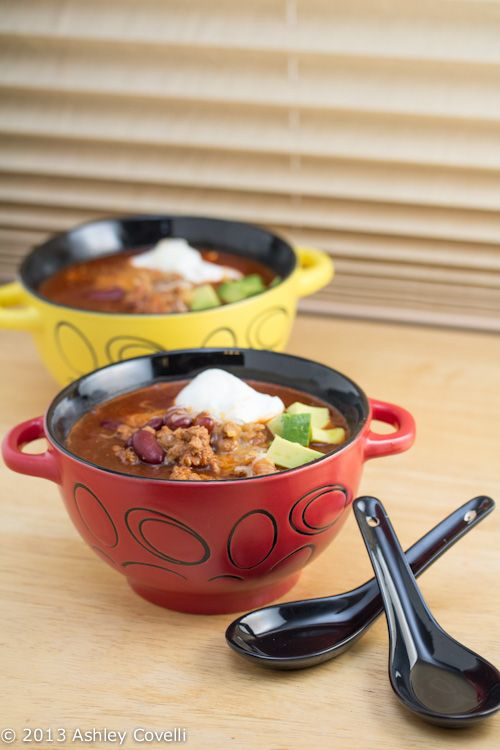 Spicy Turkey Three-Bean Chili | :: Fun Food for the Big Game | Pinter ...