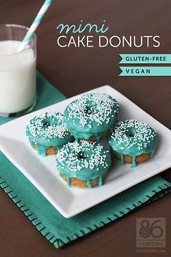 Mini Cake Donuts, I am going to have to try making these