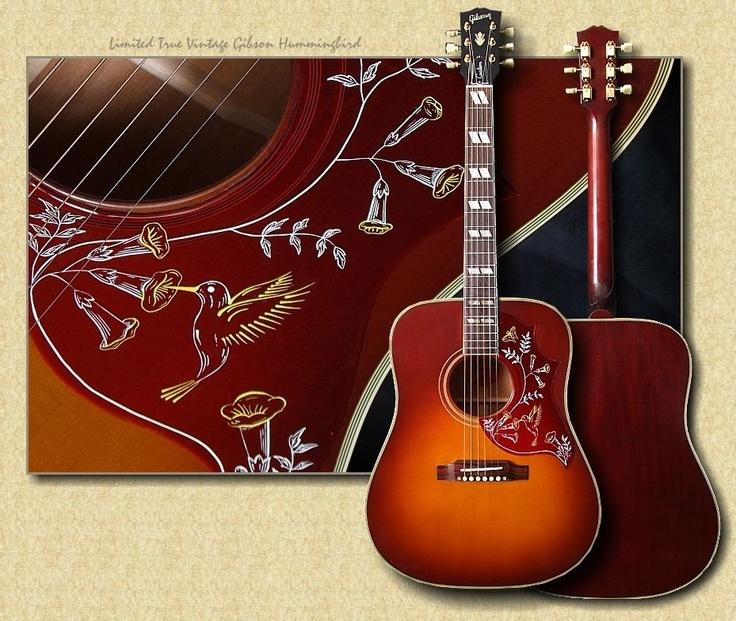 Gibson Hummingbird (acoustic)