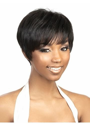 Short Natural Wigs for Black Women