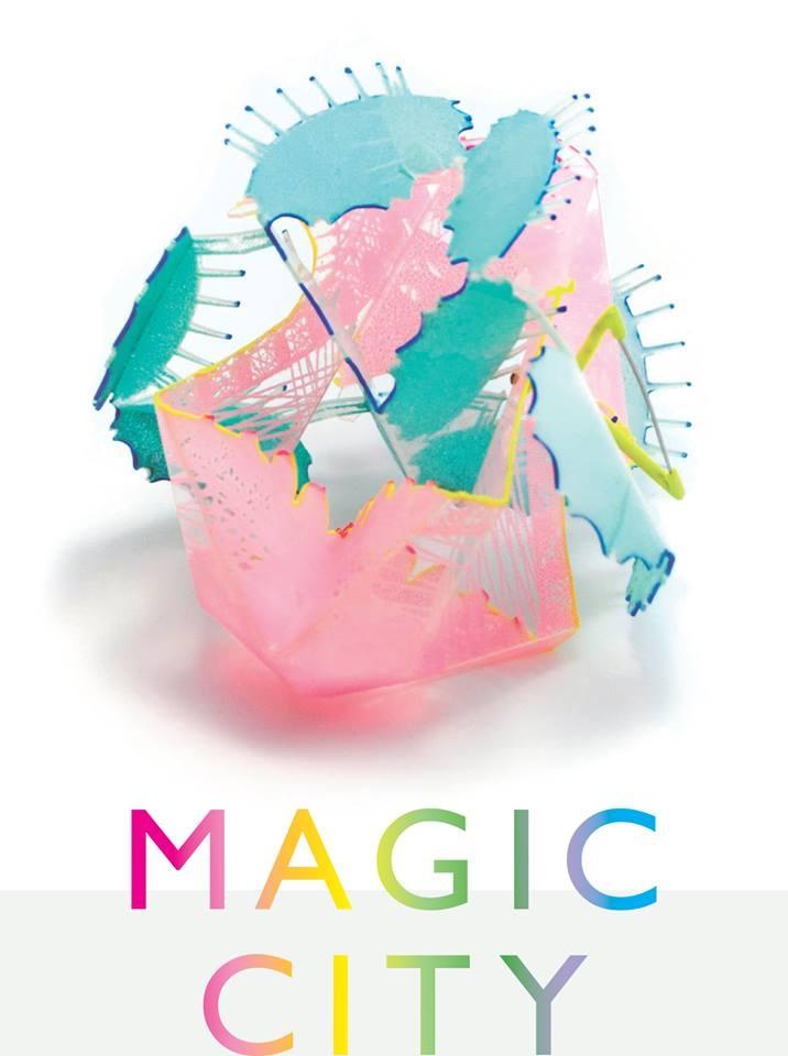 "Magic City is coming... at Velvet da Vinci -  June 12—July 14, 2013  Participating artists:  Christiana Jöckel, Christine Graf, Emily Bullock, Farrah Al-Dujaili, Fliss Quick, I-Ting Ho, Jo Pond, Katharina Moch, Kathryn Partington, Li Chu Wu, Lisa Juen, Lydia Feast, Nanna Grønborg, Natalie Smith, Xiaohan Ren, Wen-Miao Yeh, Yi Liu, Ying-Hsun Hsu -  exhibition catalog available    [WEN-MIAO YEH ""The Space"" brooch] - - X"