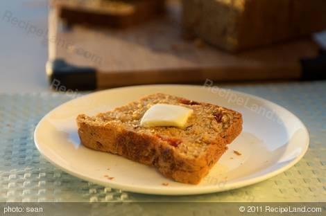 Bread Machine Mozzarella & Sun-Dried Tomato Bread