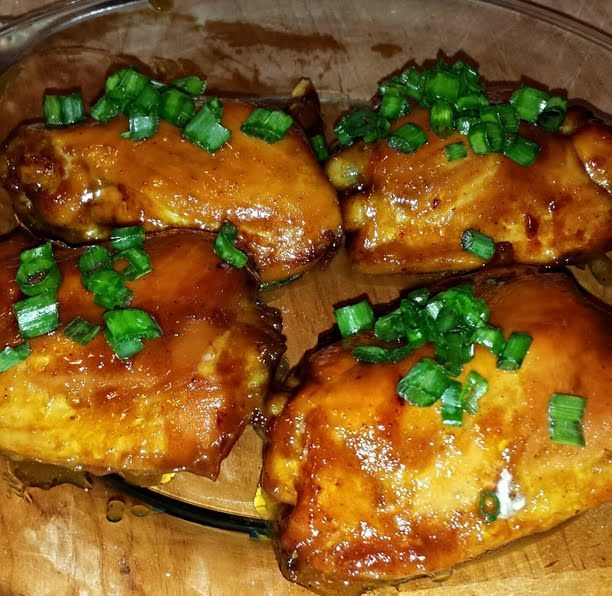 Recipe photo: Honey-Mustard Baked Chicken