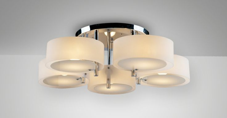 slaapkamer lamp Gala 5 Opal van Lumiven