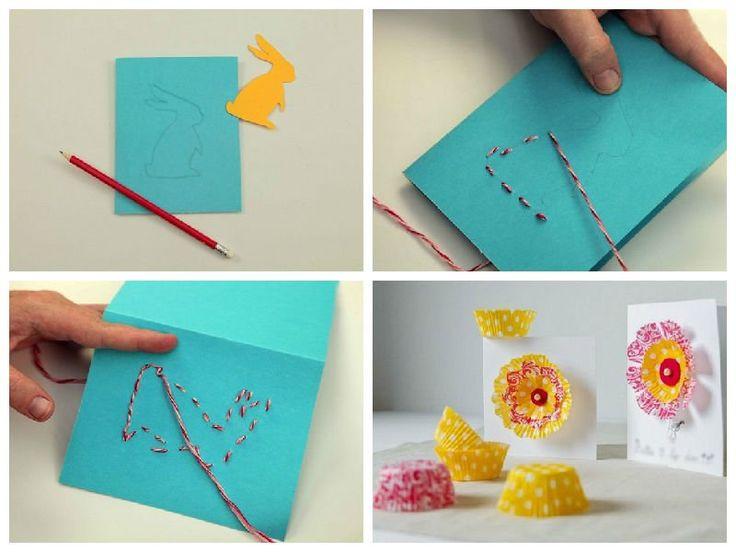 Легкие открытки для детей 94