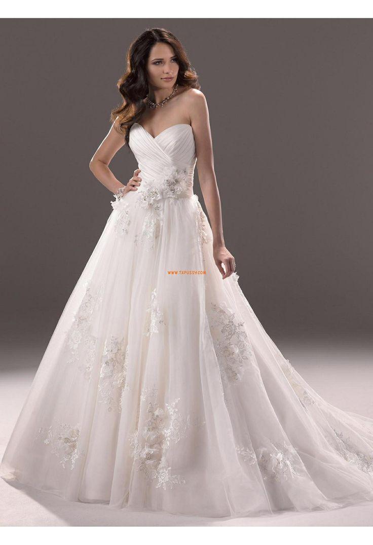 Charmeuse Robe de mariée 2014  Robes de mariée glamour  Pinterest