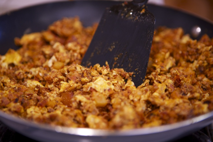 Chorizo, Potato and Egg Breakfast | mmmmm yummy :) | Pinterest