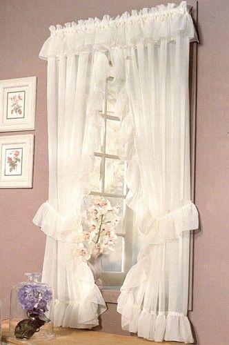 Madrid One Rod Priscilla Curtains | 19th Century Home | Pinterest