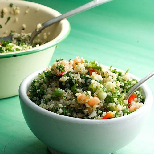 Quinoa Tabbouleh Salad. | Sassy Salads | Pinterest