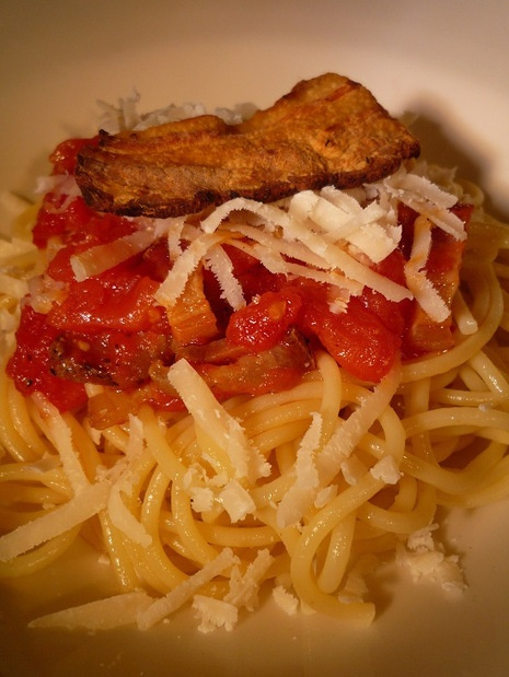 Spaghetti all'amatriciana | Italian Food - Cucina Italiana | Pinterest