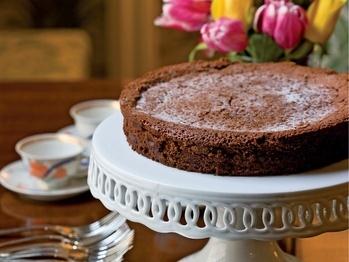 Flourless Dark Chocolate Cake | Recipe