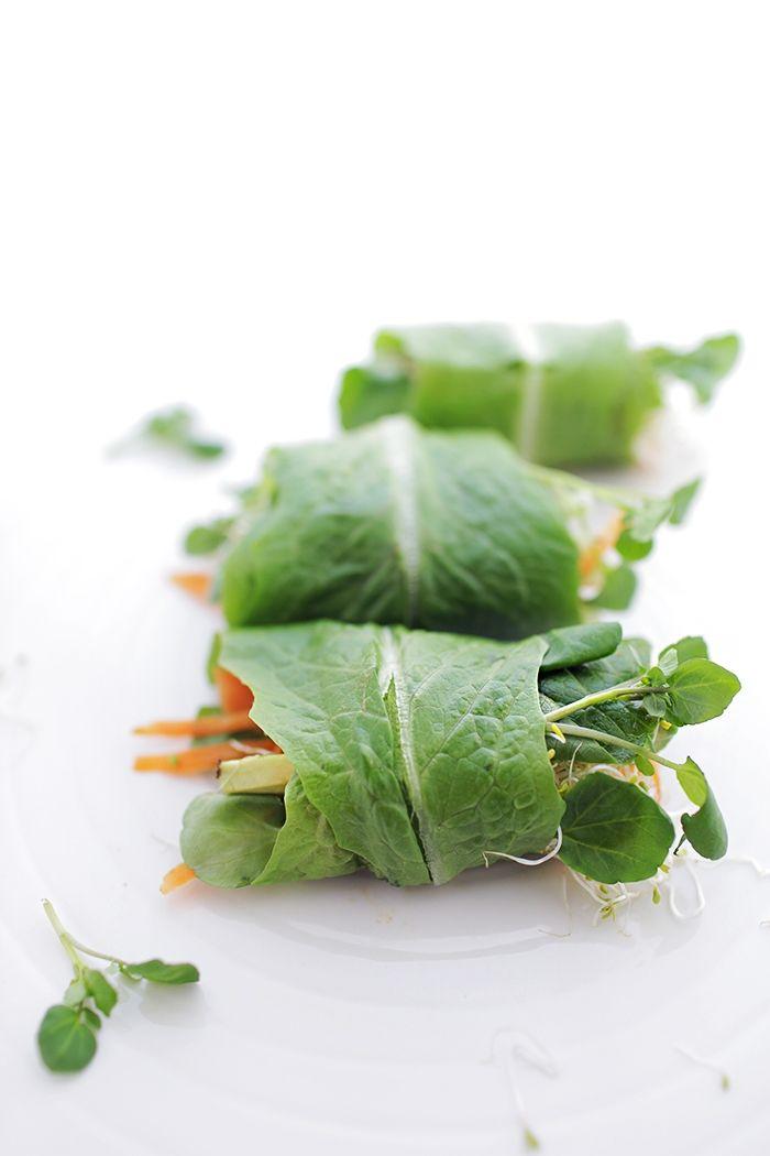 Salad spring rolls | Yummy Food | Pinterest