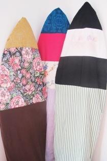 DIY surfboard bags