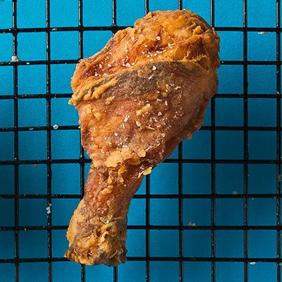 Learn to make our buttermilk brined fried chicken.