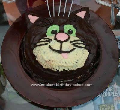 Birthday Cat Cake Recipes Image Inspiration of Cake and Birthday
